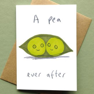 A Pea Ever After Card