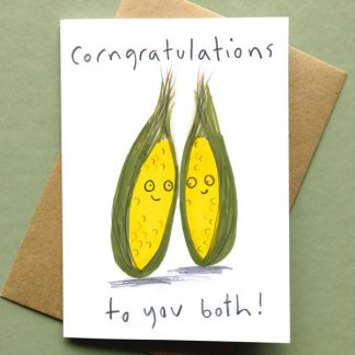 Corngratulations to You Both Card