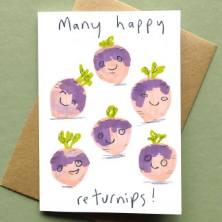 Many Happy Returnips Card