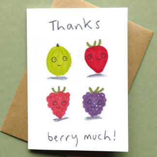 Thanks Berry Much Card