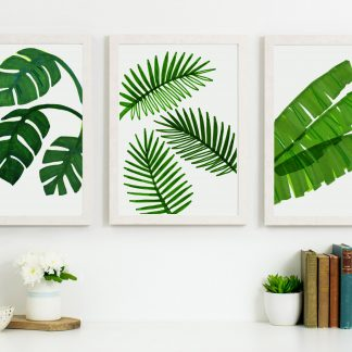 Green Leaf Prints