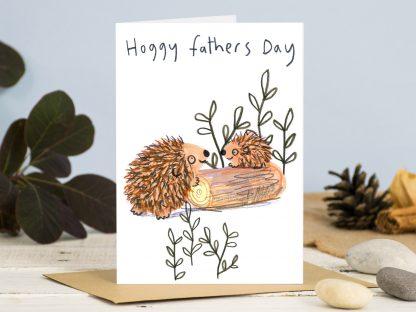 Hedgehog Fathers Day Card