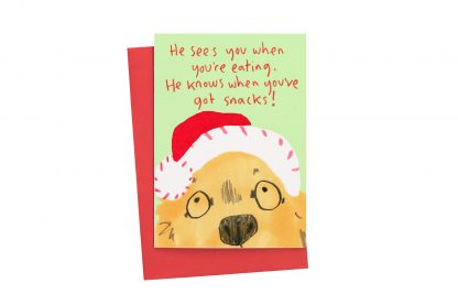 Christmas dog card